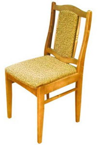 Как сделать мягкий стул со спинкой