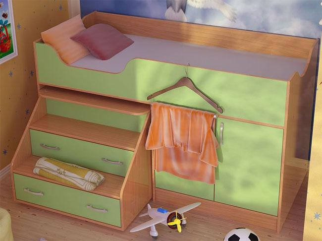 Кровать с инструкцией и